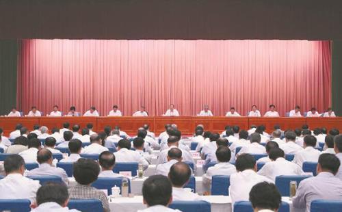 """安徽省""""不忘初心、牢记使命""""主题教育第一批总结暨第二批部署会议在肥"""