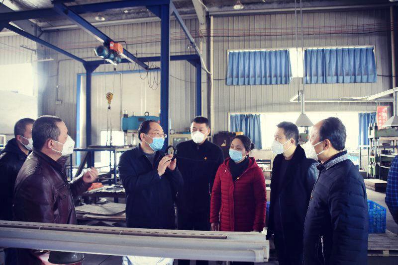 陆应平深入部分企业调研指导疫情防控和复工复产工作